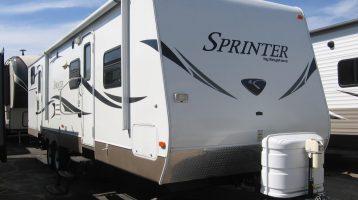 2012 311BHS Sprinter TT  $14,900